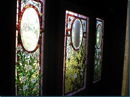Sarah Winchester Glass Panels