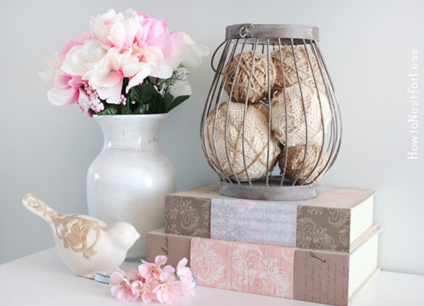 burlap-and-twine-wrapped-styrofoam-balls