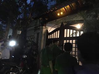 Công an khám xét nhà riêng của Đào Tấn Bằng tại số 37/27 đường Hải Hồ, phường Thanh Bình, quận Hải Châu, Đà Nẵng.