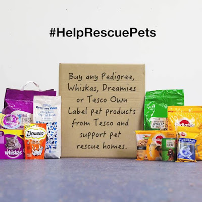 Help pet rescue homes by shopping at Tesco Buy any Pedigree Whiskas