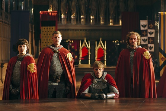 BBC Merlin season 5 The Death Song of Uther Pendragon