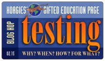 Gifted Testing Blog Hop