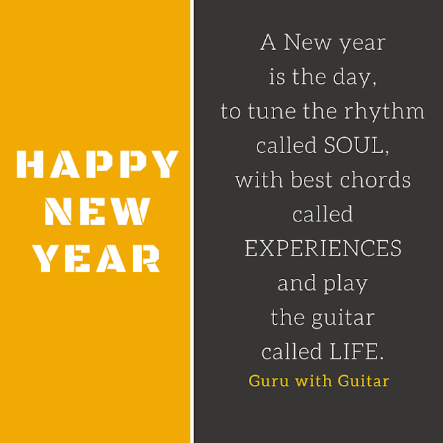 New Year Quotes For Life: What Is A New Year? Wishes By @GuruWithGuitar @SrishtiPub