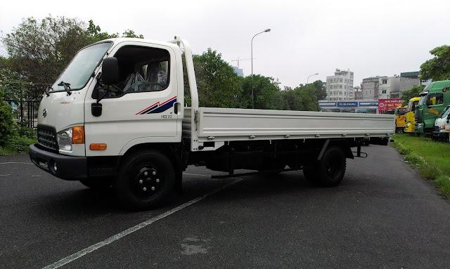 Hyundai 3,5 tấn thùng lửng
