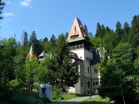 Obiective turistice Romania: castelul Pelisor