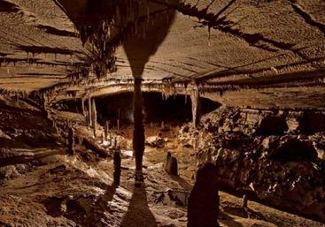caverna dentro