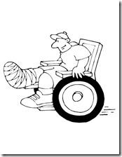discapacidad silla de ruedas ()