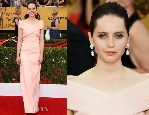 Felicity-Jones-In-Balenciaga-2015-SAG-Awards
