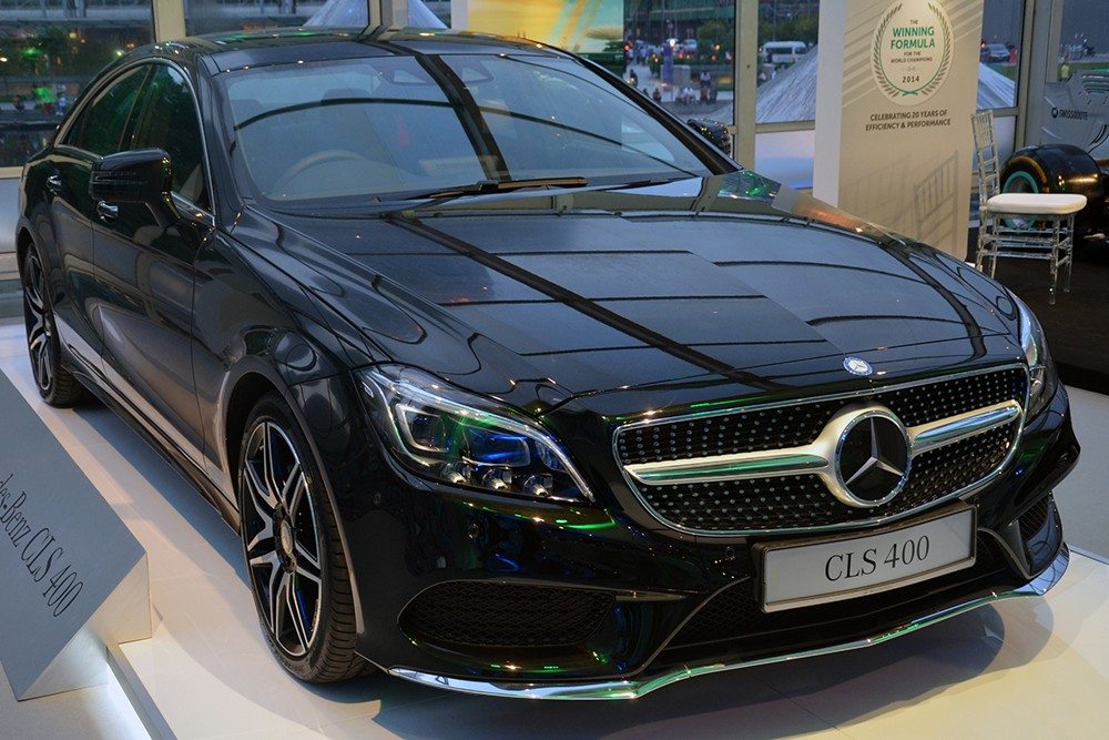 Xe Mercedes Benz CLS400 New Model 04