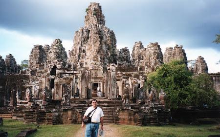 Obiective turistice Cambogia: Bayon Siem Reap