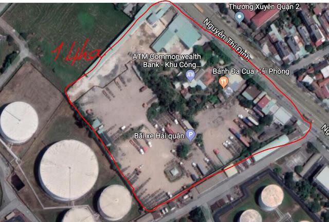 Bán đất chính chủ Mặt Tiền Đường Nguyễn Thị Định Phường Thạnh Mỹ Lợi Quận 2 Tp HCM