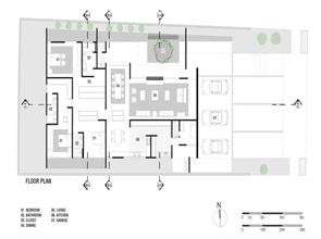 Plano casa gedda mustafa bucar arquitetura