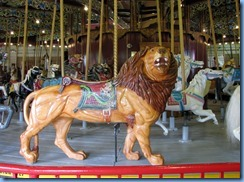 8535 Lakeside Park, Port Dalhousie, St. Catharines - carousel- Looff Lion