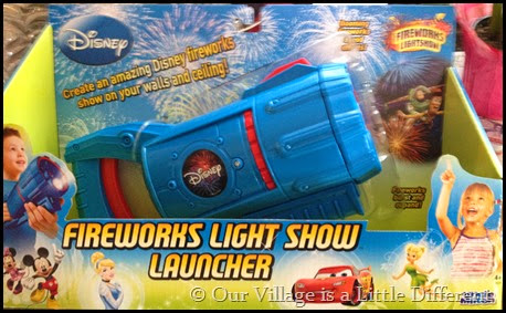 The Disney© Fireworks Lightshow Launcher