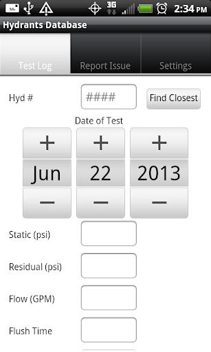 Hydrants Database
