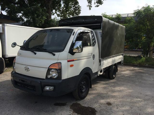 Xe tải 1 tấn bãi Hyundai Cabin kép