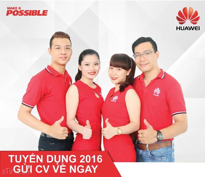 """Huawei Việt Nam """"chiêu mộ"""" nhân tài"""