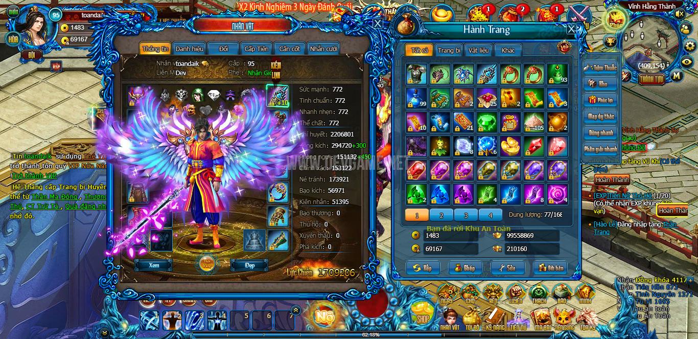 Server Webgame Ám Hắc Tru Tiên
