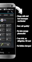 Screenshot of Cheap Calls