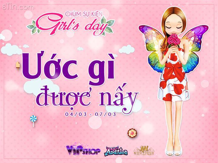 Ra mắt chùm sự kiện Girl's Day 08/03 cùng hàng loạt quà KHỦNG