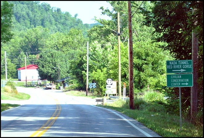 01 - Tour Start - Rt15 & 77 right turn to Nada Tunnel