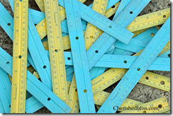 painted rulers