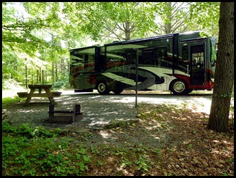 10a- Stony Fork Campground, Site 7 - 132 ft. pull-thru