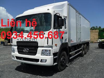 Xe tải 3 chân Hyundai HD260 thùng đông lạnh tải trọng 15 tấn