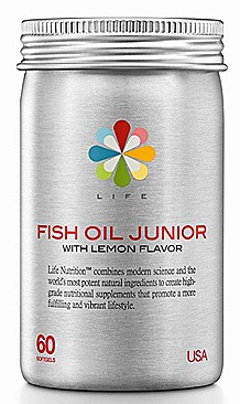 Life Nutrition Fish Oil Junior  WATSONS $29.90, 60 softgels.