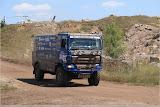 Die LKW fahren zum Start - Baja Deutschland #Baja300