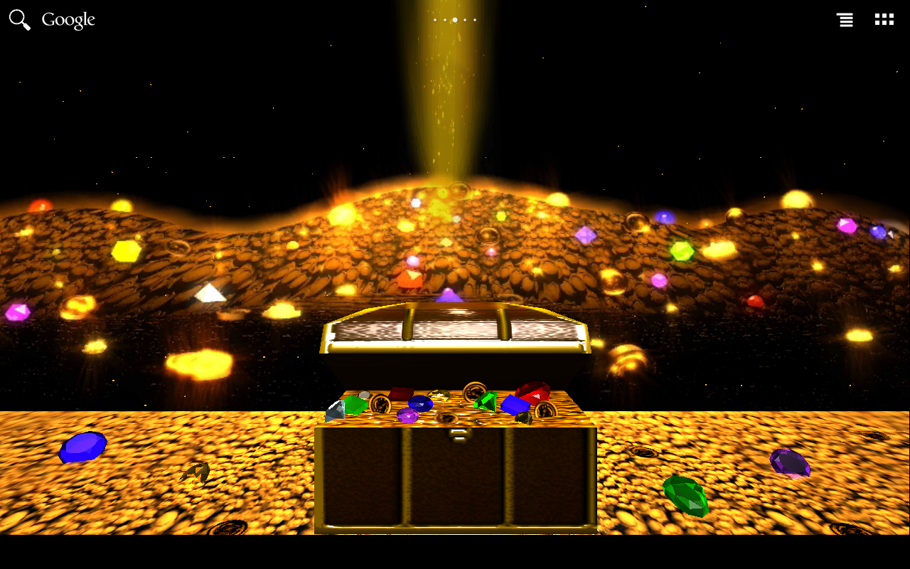Treasure Chest LWP DEMO- screenshot