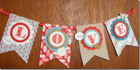 LeAnne Pugliese WeeInklings Love Banner Stampin UP-001