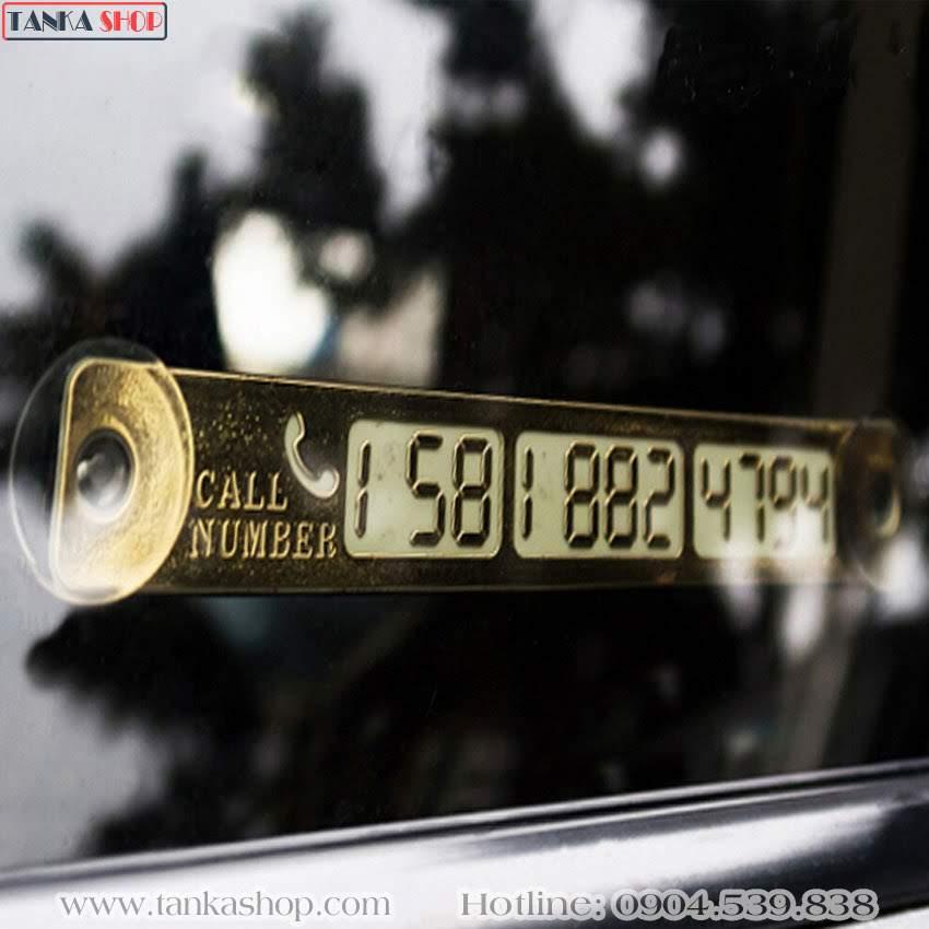 Thẻ ghi số điện thoại trên ô tô