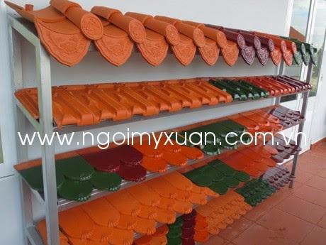 Sản phẩm gạch ngói của Công ty Mỹ Xuân