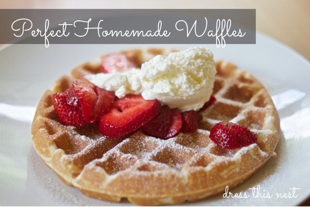 perfect-homemade-waffles
