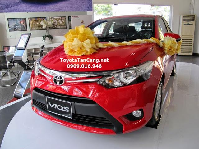 gia xe toyota vios 2015 - Kỷ niệm 20 năm thành lập khuyến mãi lớn khi mua xe tại Toyota Hùng Vương - Muaxegiatot.vn