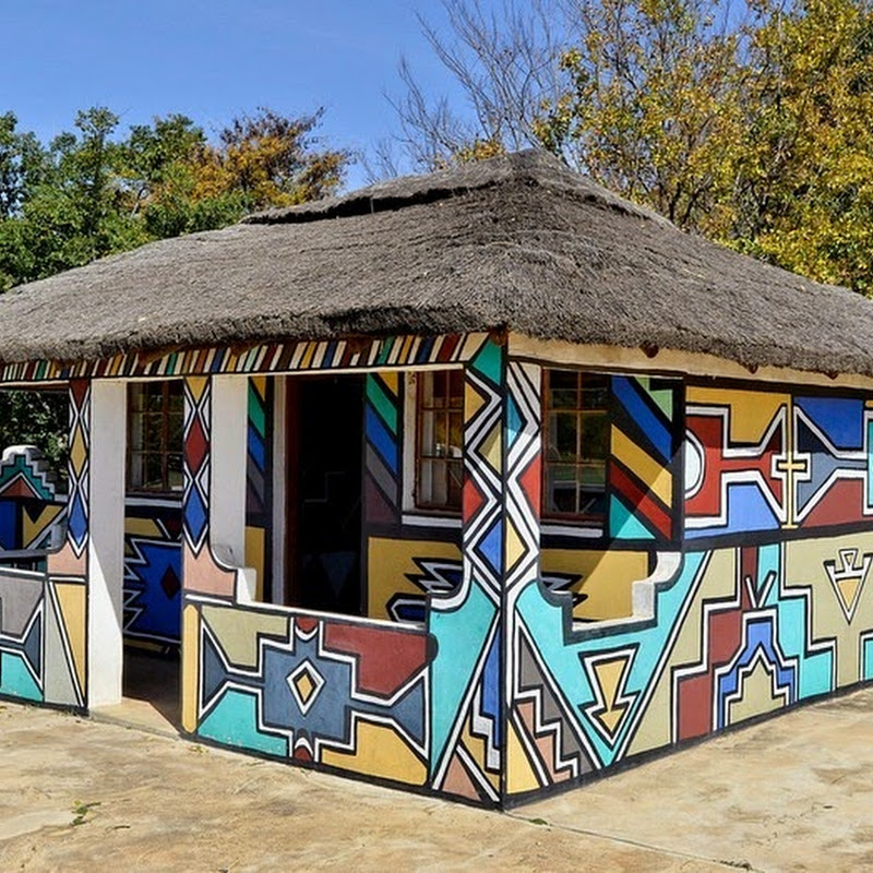 The Painted Houses of The Ndebeles