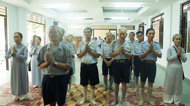 DSC06279 Lễ Hiệp kỵ   Lễ Huý Nhật Cư sĩ Sáng lập viên GĐPT Việt Nam   Tâm Minh Lê Đình Thám