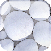 White Pebble Live Wallpaper