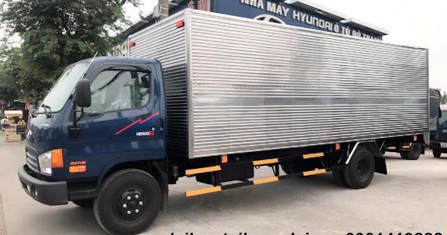 Xe Đô thành HD120sl 8 tấn thùng kín