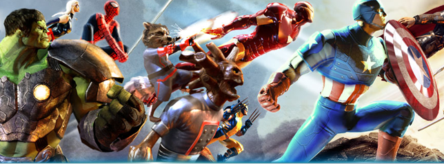 Marvel Heroes – Play RPG Game with Spider Man, Iron Man, Wolverine