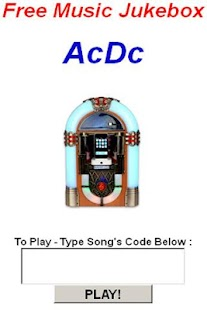 Ac/Dc JukeBox - screenshot thumbnail