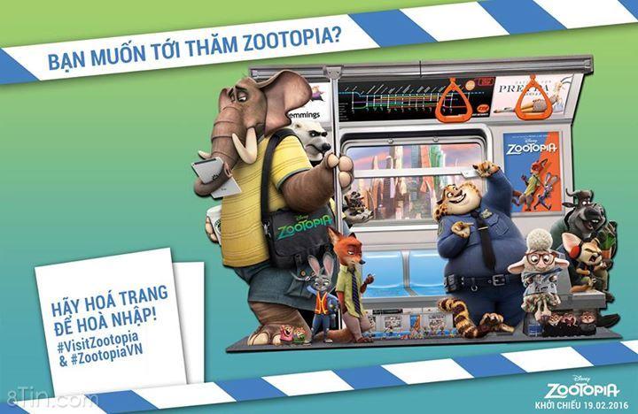 Cơ hội thắng 150 PHẦN QUÀ Zootopia: Phi Vụ Động Trời cuối
