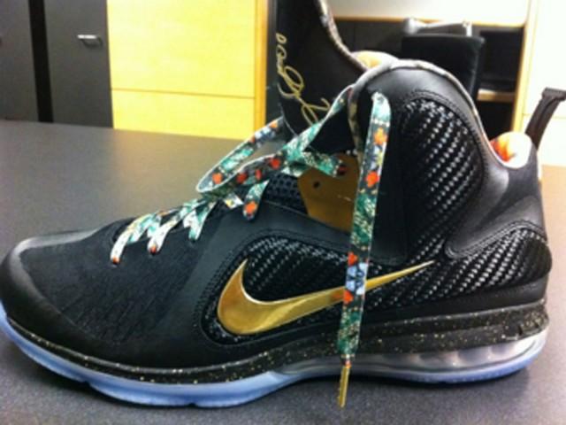 2e22030bd5f Nike LeBron 9 8220Watch the Throne8221 James amp JayZ amp Kanye West ...