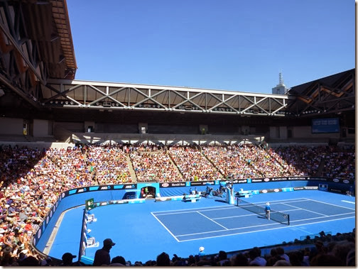 Packed Margaret Court Arena