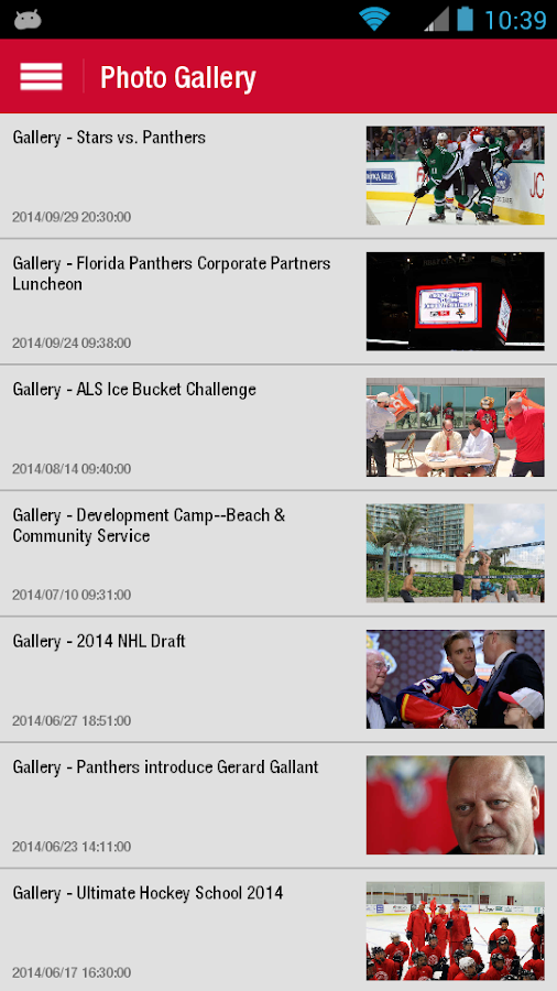 Florida Panthers Official App - screenshot