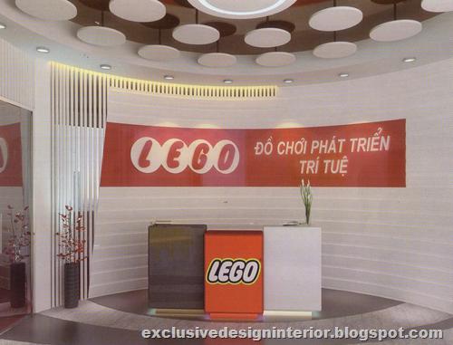 Lego Toy Store Design Interior