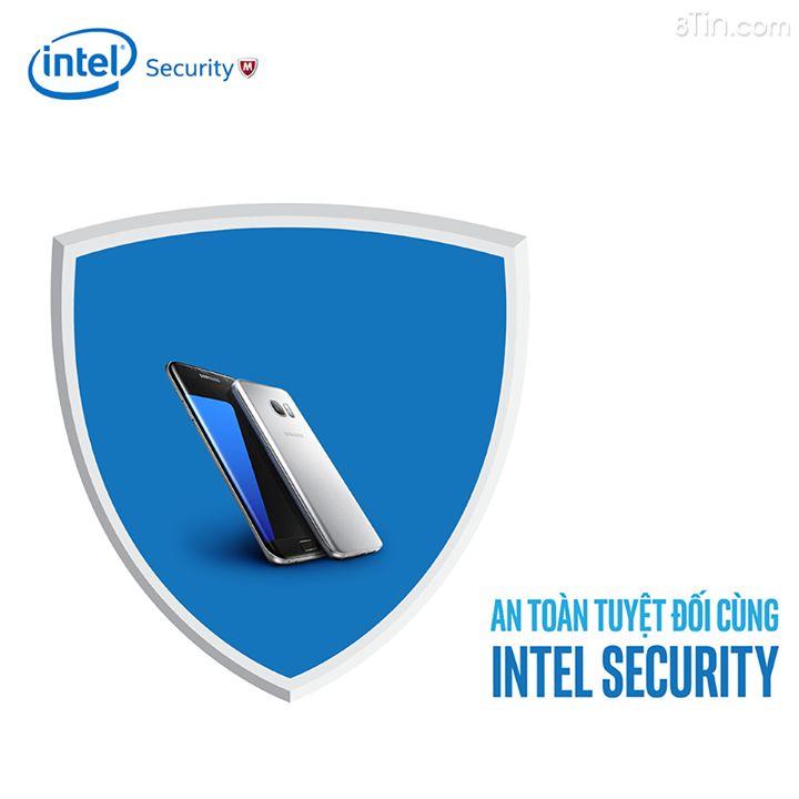 Nhờ có Intel Security, người dùng điện thoại Samsung Galaxy S7 Edge