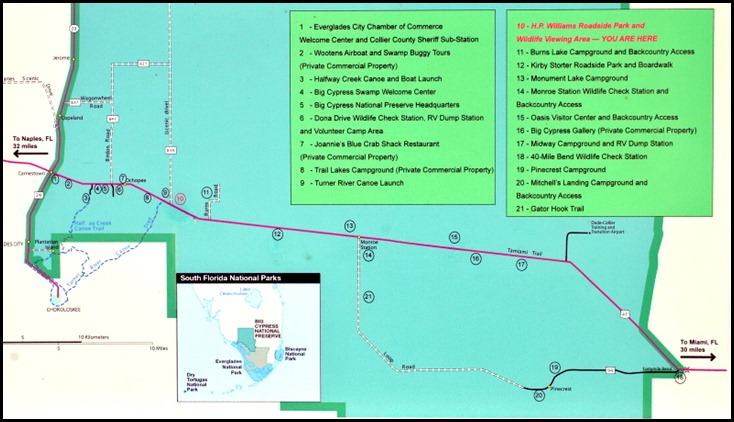00a - Map of Big Cypress Preserve
