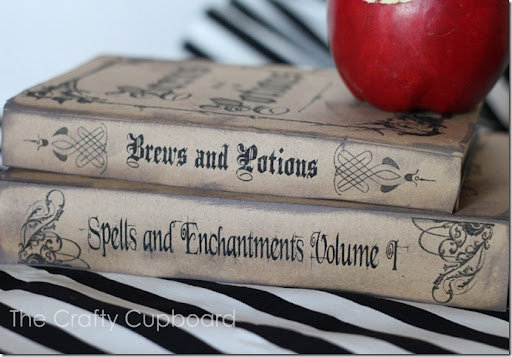 photo regarding Printable Harry Potter Spells known as Potter Do it yourself: Spell Textbooks MuggleNet